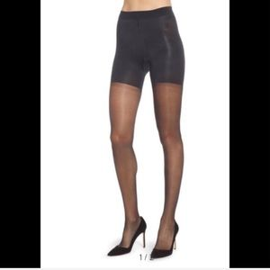 NIB SPANX Firm Believer Sheers Black Size B